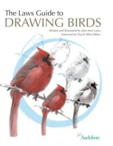 cover of The Laws Guide to Drawing Birds, by John Muir Laws