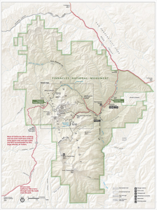 Pinnacles map (NPS)