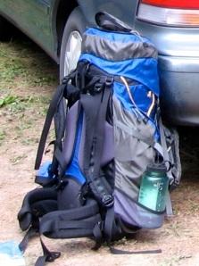My Deva 60, waiting to go on a hike.
