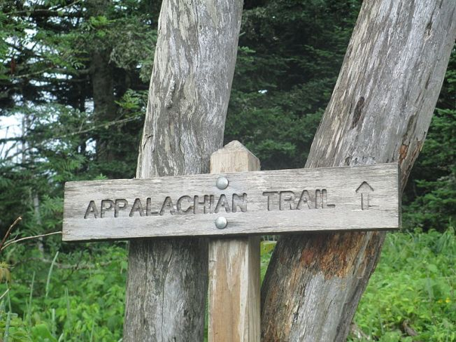 Appalachian Trail sign photo by Billy Hathorn (Creative Commons)